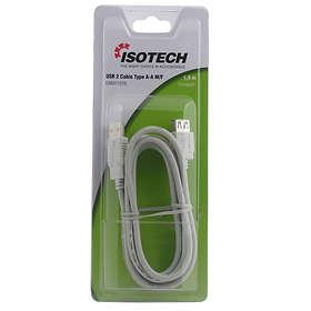 Isotech USB A - USB A M-F 2.0 1,8m