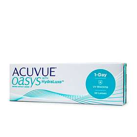 Johnson & Johnson Acuvue Oasys 1 Day with HydraLuxe (30-pack)