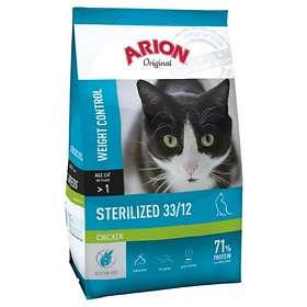 Arion Petfood Cat Original Sterilized Weight Control Chicken 7,5kg