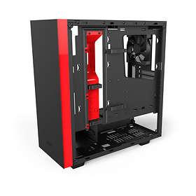 NZXT Source S340 Elite (Musta/Punainen/Läpinäkyvä)