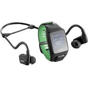 TomTom Runner 3 Cardio + Music+ BT Headphones