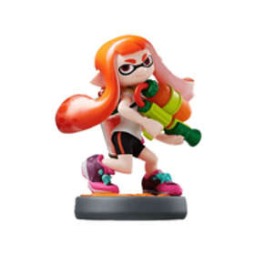 Nintendo Amiibo - +ng Girl