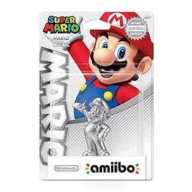Nintendo Amiibo - Mario - Silver Edition