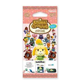 Nintendo Amiibo - Animal Crossing Cards - Series 4