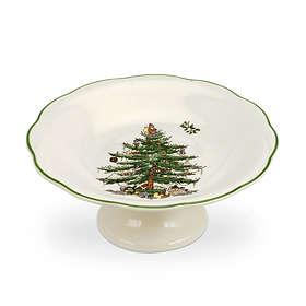 Spode Christmas Tree Godisskål På Fot Ø180mm
