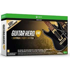 Guitar Hero Live (inkl. 2x Gitarr) - Supreme Party Edition