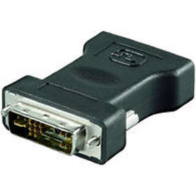 MicroConnect DVI 17Pin - VGA M-F Adapter