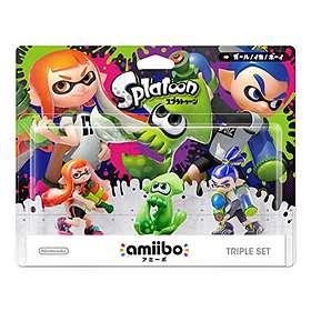 Nintendo Amiibo - Girl/Squid/Boy - 3 Pack