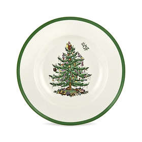 Spode Christmas Tree Sopptallrik Ø23cm