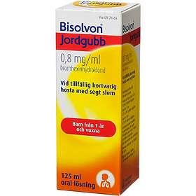 Boehringer Ingelheim Bisolvon Jordgubb 0,8mg/ml 125ml Flytande