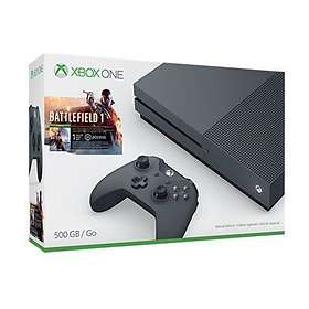 Microsoft Xbox One S 500GB (incl. Battlefield 1) - Special Edition