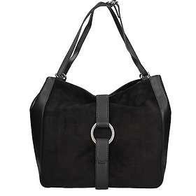 Michael Kors Quincy Large Suede Leather Shoulder Bag