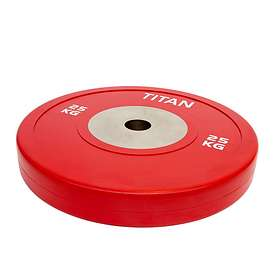 Titan BOX Elite Bumper Plate 25kg