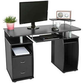 TecTake Datorskrivbord 115x55cm