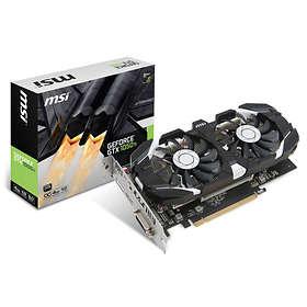 MSI GeForce GTX 1050 Ti Dual Fans OC HDMI DP 4GB