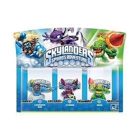 Skylanders Spyro's Adventure - Lightning Rod/Zook/Cynder - 3 Pack