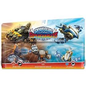 Skylanders SuperChargers - Shark Tank/Shark Shoot Terrafin/Jet Stream - 3 Pack