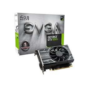 EVGA GeForce GTX 1050 Ti Gaming HDMI DP 4GB