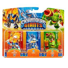 Skylanders Giants - Ignitor/Chill/Zook - 3 Pack