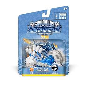 Skylanders Super Chargers - Power Blue Gold Rusher