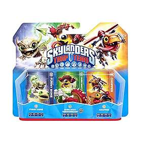 Skylanders Trap Team - Funny Bone/SS Shroomboom/Chopper 3 Pack