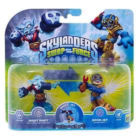 Skylanders Swap Force - Night Shift/Boom Jet - 2 Pack