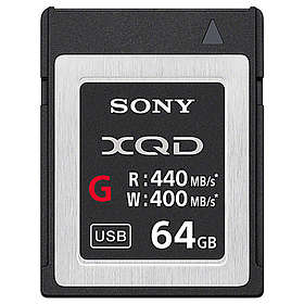 Sony G Series XQD 440/400MB/s 64GB