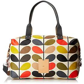 Find the best price on Orla Kiely Classic Multi Stem Zip Holdall ... 29987a2236886
