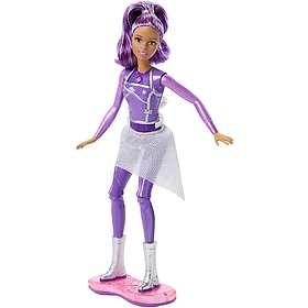 Barbie Star Light Adventure Lights & Sounds Hoverboarder Doll DLT23