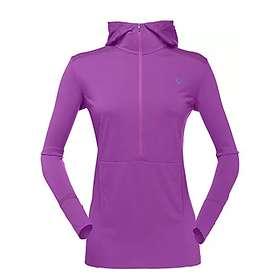 Norrøna Super Hoodie LS Shirt W/Zip (Dame)