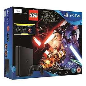 Sony PlayStation 4 Slim 1TB (incl. LEGO Star Wars: The Force Awakens + Movie)