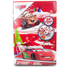 Disney Pixar Bilar Skoltillbehör Adventskalender 2015