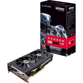 Sapphire Radeon RX 480 Nitro+ OC (11260-10) 2xHDMI 2xDP 8GB