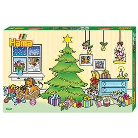 Hama Beads Midi Julekalender