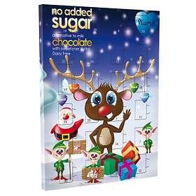 Plamil Mjölkfri Sockerfri Choklad Adventskalender