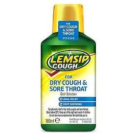 Reckitt Benckiser-Lemsip Cough Dry Cough & Sore Throat Elixir 180ml