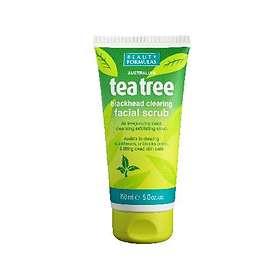 Beauty Formulas Tea Tree Blackhead Clearing Facial Scrub 150ml