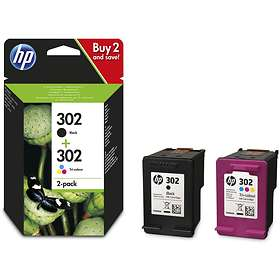 HP 302 (Black) + 302 (3-Colour)