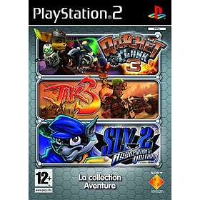 Triple Pack Jak & Daxter 3 + Ratchet and Clank 3 + Sly Raccoon 2