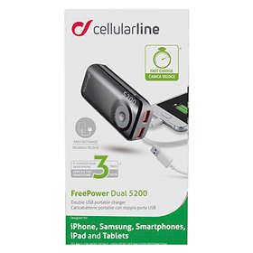 Cellularline FreePower Dual 5200