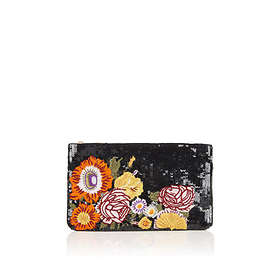 da38575fbadd Find the best price on Oasis Sequin Flower Clutch Bag | Compare ...