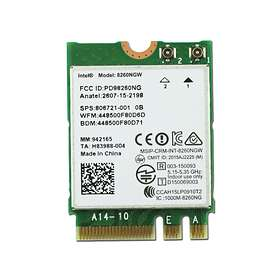 Intel Dual Band Wireless-AC 8260 Bluetooth M.2
