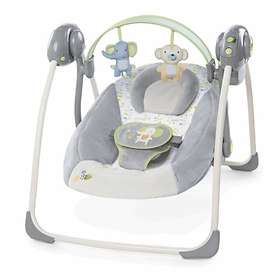 Ingenuity Bright Starts Buzzy Bloom Portable Swing