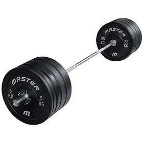 Master Fitness Skivstångsset Crossfit 140kg