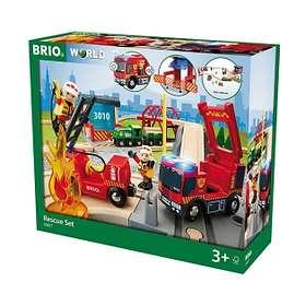 BRIO Tågset med Räddningstema 33817
