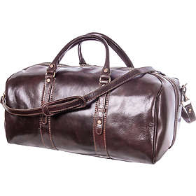 28c3d3c3e771 Find the best price on Luciano Fabrini Leather Barrel Bag Large ...