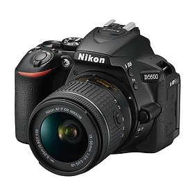 Nikon D5600 + AF-P 18-55/3.5-5.6 VR