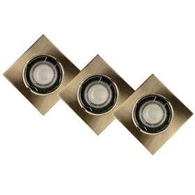 Lucide Focus LED Sqaure (5W, 3-set)