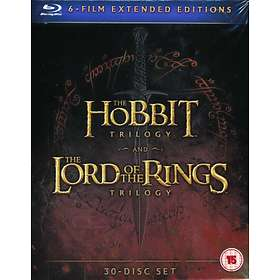 The Hobbit Trilogy + The LOTR Trilogy - Extended Edition (UK)