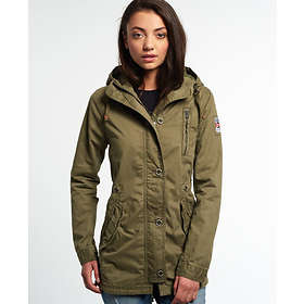 bcbecf0bd5f Find the best price on Superdry Rookie Military Parka Jacket (Women s)